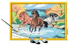 Numéro d'art - grand - Horde de chevaux - Image 3 - Cliquer pour agrandir