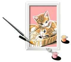 Numéro d'art - mini - Chatons dans leur panier - Image 3 - Cliquer pour agrandir