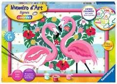 Numéro d'art - grand - Flamingos amoureux - Image 1 - Cliquer pour agrandir