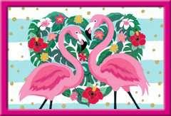 Numéro d'art - grand - Flamingos amoureux - Image 2 - Cliquer pour agrandir