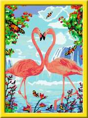 Flamingo Love - image 2 - Click to Zoom
