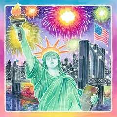 Leuchtendes New York Malen und Basteln;Zeichen- und Malsets - Bild 2 - Ravensburger