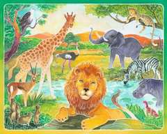 Tiere am Wasserloch - Bild 2 - Klicken zum Vergößern