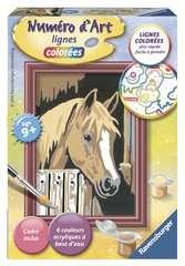 Numéro d'art - mini - Cheval dans son box - Image 1 - Cliquer pour agrandir