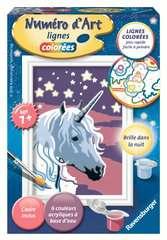 Numéro d'art - mini - Licorne scintillante - Image 1 - Cliquer pour agrandir