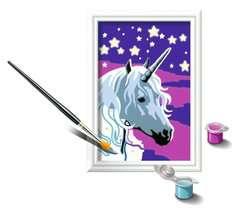 Numéro d'art - mini - Licorne scintillante - Image 3 - Cliquer pour agrandir