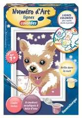 Numéro d'art - mini - Petit chien qui brille - Image 1 - Cliquer pour agrandir
