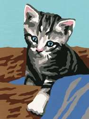Numéro d'art - mini - Petit chien qui brille - Image 2 - Cliquer pour agrandir
