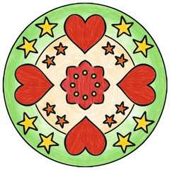 2 in 1 Mandala-Designer® Disney Princess - image 2 - Click to Zoom