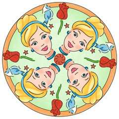 2 in 1 Mandala-Designer® Disney Princess - image 7 - Click to Zoom