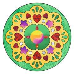 Metallic Mandala-Designer Romantic - image 5 - Click to Zoom