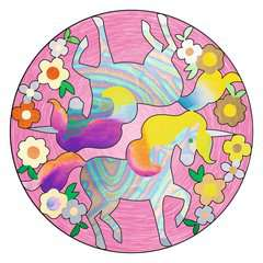 Metallic Mandala-Designer Unicorn - image 2 - Click to Zoom