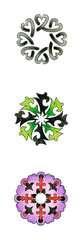 2-in-1 Mandala-Designer® Tattoo - image 2 - Click to Zoom