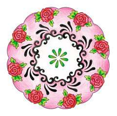 2-in-1 Mandala-Designer® Tattoo - image 3 - Click to Zoom