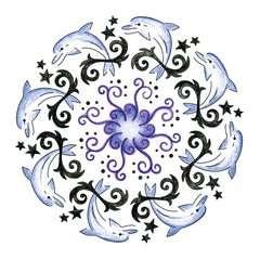 2-in-1 Mandala-Designer® Tattoo - image 4 - Click to Zoom