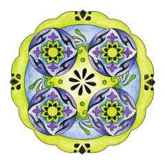 2-in-1 Mandala-Designer® Tattoo - image 6 - Click to Zoom