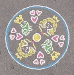 Outdoor Mandala-Designer®: Princess - image 3 - Click to Zoom
