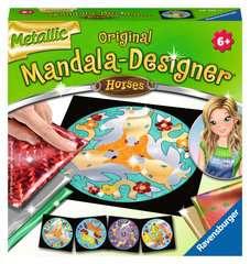 Metallic Mandala-Designer Horses - Bild 1 - Klicken zum Vergößern