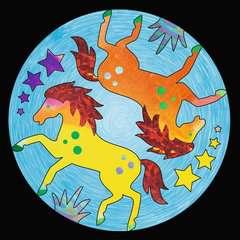 Metallic Mandala-Designer Horses - Bild 4 - Klicken zum Vergößern