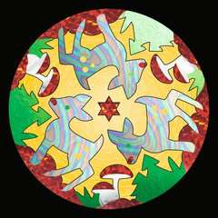 Metallic Mandala-Designer Fantasy - Image 5 - Cliquer pour agrandir