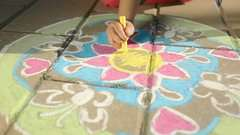 Outdoor Mandala- Designer® Flowers & Butterflies - image 5 - Click to Zoom