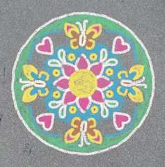 Outdoor Mandala- Designer® Flowers & Butterflies - image 9 - Click to Zoom