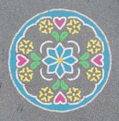 Outdoor Mandala- Designer® Flowers & Butterflies - image 10 - Click to Zoom
