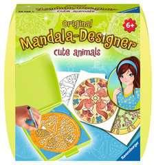 Mandala - mini - Cute animals - Image 1 - Cliquer pour agrandir