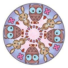 mini Mandala-Designer® - Cute Animals - image 3 - Click to Zoom