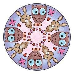 Mandala - mini - Cute animals - Image 3 - Cliquer pour agrandir