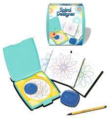 Mini Spiral-Designer turquoise - image 2 - Click to Zoom
