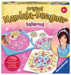 Mandala-Designer Ballerina - image 1 - Click to Zoom
