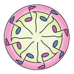 Mandala  - midi - Ballerina - Image 3 - Cliquer pour agrandir