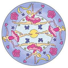 Mandala-Designer Ballerina - image 5 - Click to Zoom