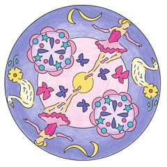 Mandala-Designer Ballerina - image 8 - Click to Zoom
