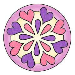 Mandala-Designer Ballerina - image 10 - Click to Zoom