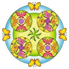 Mandala  - midi - Flowers & butterflies - Image 13 - Cliquer pour agrandir