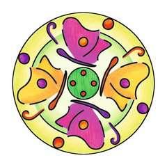 Mandala  - midi - Flowers & butterflies - Image 3 - Cliquer pour agrandir