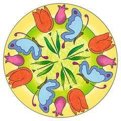 Mandala  - midi - Flowers & butterflies - Image 4 - Cliquer pour agrandir