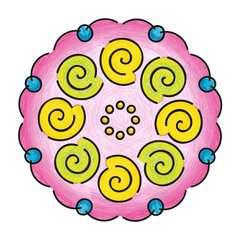 Mandala  - midi - Flowers & butterflies - Image 5 - Cliquer pour agrandir