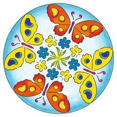 Mandala  - midi - Flowers & butterflies - Image 6 - Cliquer pour agrandir