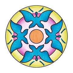 Mandala  - midi - Flowers & butterflies - Image 9 - Cliquer pour agrandir