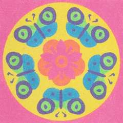 Mandala Designer Sand Butterflies - image 3 - Click to Zoom