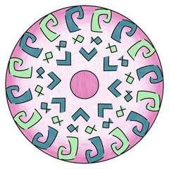 Mandala - mini - Disney Vaiana - Image 3 - Cliquer pour agrandir