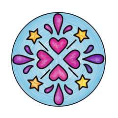 Junior Mandala-Designer® Princesse - Image 6 - Cliquer pour agrandir