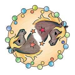 Mini Mandala-Designer®  horses - image 7 - Click to Zoom
