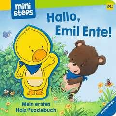 Hallo, Emil Ente! Mein erstes Holzpuzzle-Buch - Bild 1 - Klicken zum Vergößern