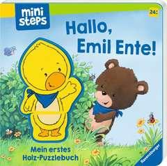 Hallo, Emil Ente! Mein erstes Holzpuzzle-Buch - Bild 2 - Klicken zum Vergößern