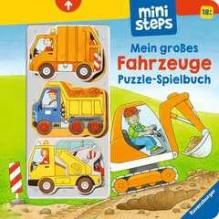Mein großes Fahrzeuge Puzzle-Spielbuch - Bild 1 - Klicken zum Vergößern