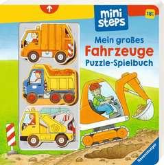 Mein großes Fahrzeuge Puzzle-Spielbuch - Bild 2 - Klicken zum Vergößern